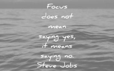 Focus then refocus